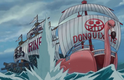 Tsuru Chases Donquixote Pirates.png