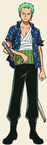 Zoro Arlong Park Arc Outfit