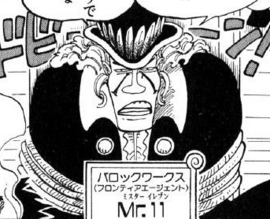 Mr. 11 Manga Infobox