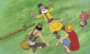 Chopper, Luffy, and Usopp Meet Tonjit