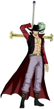 Dracule Mihawk Unlimited World Red