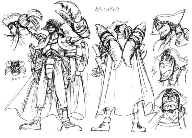 File:Ganzack Sketch.png