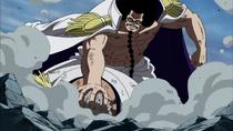 Sengoku Holds Down Garp