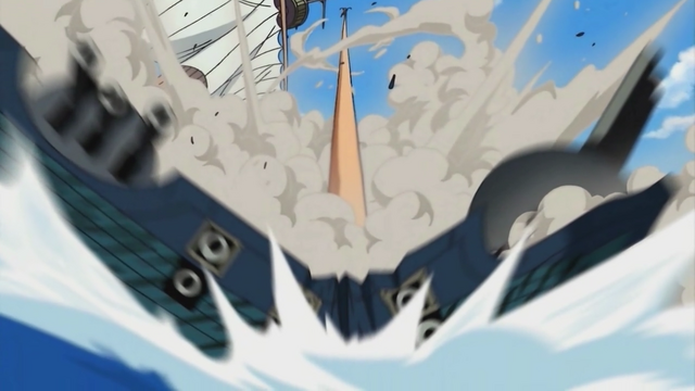 File:Luffy Destroys a Warship.png