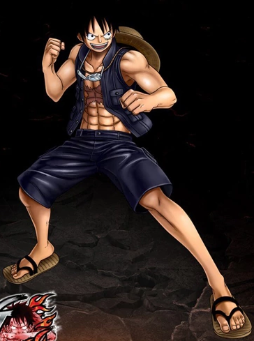 File:One Piece Burning Blood Film Gold Luffy (Artwork).png