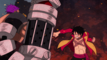 Luffy And Zephyr Fight