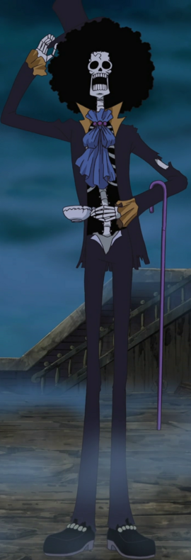 Брук до таймскипа в аниме