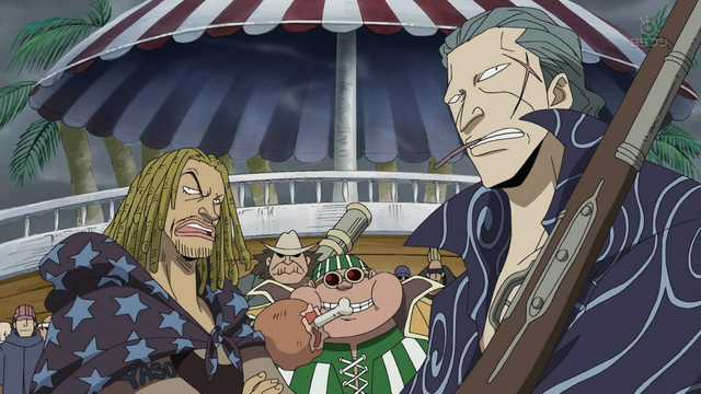 File:Red Hair Pirates Watch Shanks Clash with Whitebeard.png