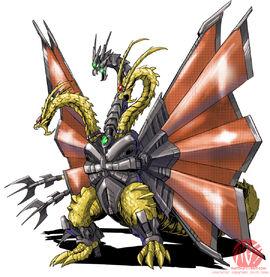 Armor dragon form