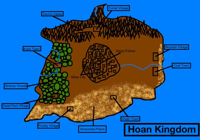 Hoan Kingdom Map