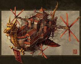 Airship-by-james-ng