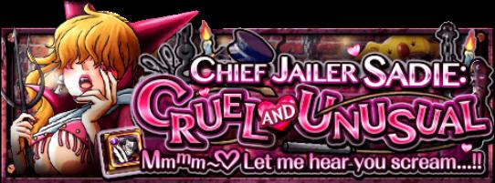 Chief Jailer Sadie Banner