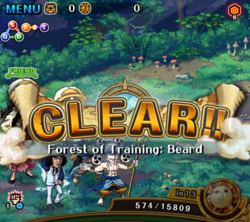 Forest of Training Whitebeard Clear