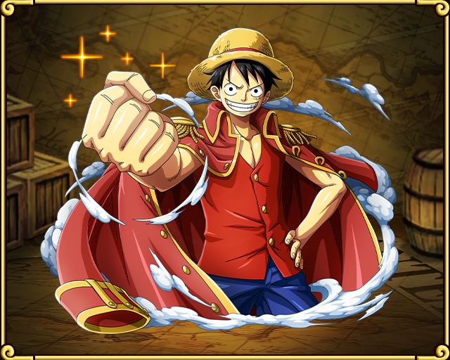 Monkey D Luffy Pirate King