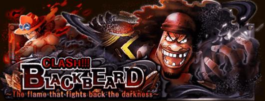 Clash!! Blackbeard! Banner
