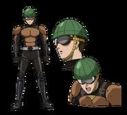 License-less Rider anime design