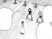 Not allowing saitama to enter