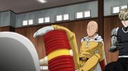 Saitama understand the rules