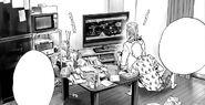 King and Saitama play video games