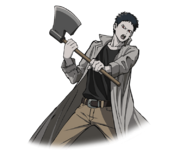 Zombieman anime artwork