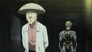 Dr. Kuseno and Genos