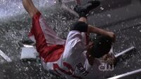 609 n is thrown through a glass guard