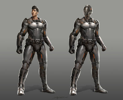 Sci fi character design by therafa-d519yi2