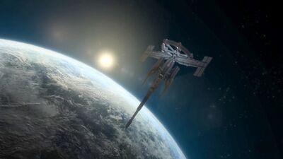Orbital Proton Cannon