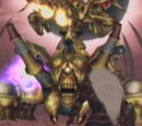 Golden Evil Statue