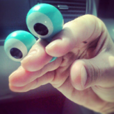 Oobi Eyes Hand Puppet - Noggin Nick Jr