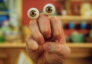 Oobi Grampu Nick Jr Noggin TV Series Show Hand Puppet Character 1