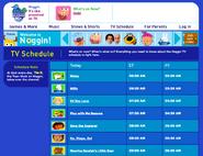 Noggin.com TV Schedule