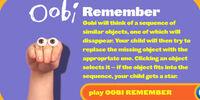 Oobi Remember
