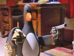 Wallace & Gromit penguin