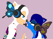 Emily Corpse Bride and Wallace manget 4 in sonic style 2