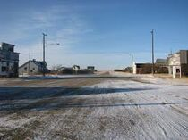Town empty