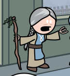 High Priestess of Hoder Comic 0985