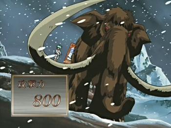 Zou Zou no Mi, Model: Mammoth