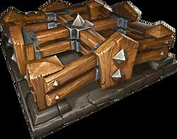 Trap Barricade