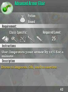 Advanced Armor Elixir