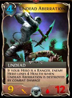 Undead aberration updated