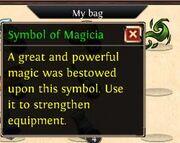 Symbol of magicia