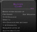 Bloody Claw