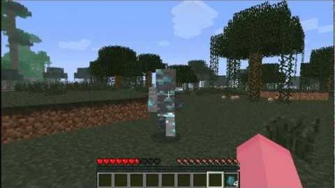 Minecraft Diamond Man Mod