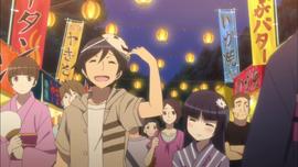 Kyousuke and kuroneko festival