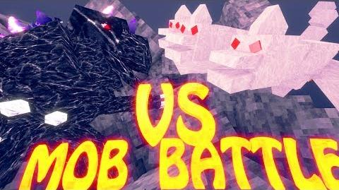 Minecraft Mob Battles The King vs Mobzilla - Ultimate Bosses Mod