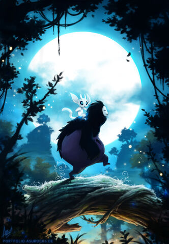 File:Ori and the blind forest by bewareitbites-d8lbb2t.jpg