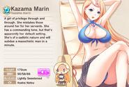 Kazama Marin Album Entry