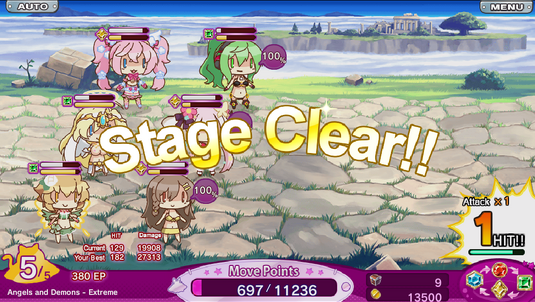Angel and Demons Clear
