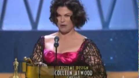 """Chicago"" winning a Costume Design Oscar®"